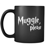 Harry Potter Muggle, Please Mug - NerdKudo - 2