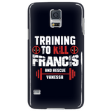 Deadpool Training To Kill Francis And Rescue Vanessa Phone Case - NerdKudo - 4