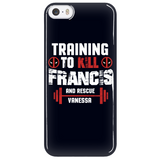 Deadpool Training To Kill Francis And Rescue Vanessa Phone Case - NerdKudo - 5