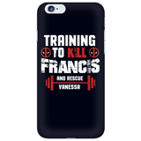Deadpool Training To Kill Francis And Rescue Vanessa Phone Case - NerdKudo - 6