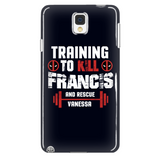 Deadpool Training To Kill Francis And Rescue Vanessa Phone Case - NerdKudo - 2