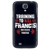 Deadpool Training To Kill Francis And Rescue Vanessa Phone Case - NerdKudo - 3