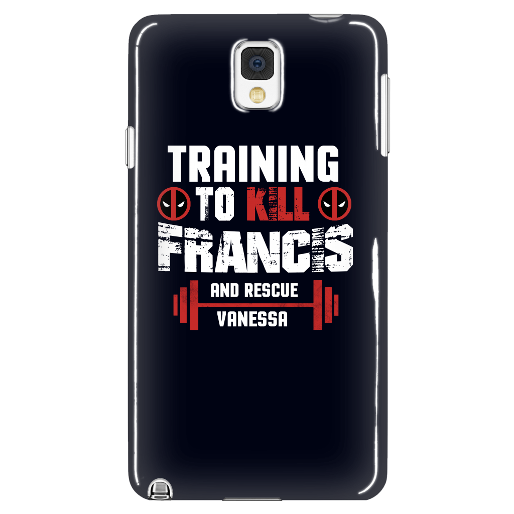 Deadpool Training To Kill Francis And Rescue Vanessa Phone Case - NerdKudo - 1