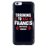 Deadpool Training To Kill Francis And Rescue Vanessa Phone Case - NerdKudo - 7