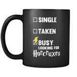 Harry Potter Busy Looking For Horcruxes Mug - NerdKudo - 2