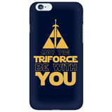The Legend Of Zelda May The Triforce Be With You Phone Case - NerdKudo - 6