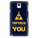 The Legend Of Zelda May The Triforce Be With You Phone Case - NerdKudo - 2