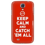 Pokemon Keep Calm And Catch 'Em All Phone Case - NerdKudo - 3