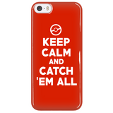 Pokemon Keep Calm And Catch 'Em All Phone Case - NerdKudo - 5