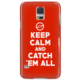 Pokemon Keep Calm And Catch 'Em All Phone Case - NerdKudo - 4