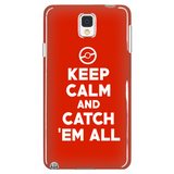 Pokemon Keep Calm And Catch 'Em All Phone Case - NerdKudo - 1