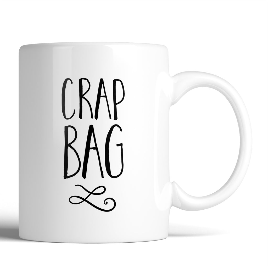 Crap Bag / Princess Consuela Banana Hammock 11oz Mug - Choose Your Style Below