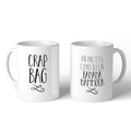 F.R.I.E.N.D.S Crap Bag / Princess Consuela Banana Hammock 11oz Mug - Choose Your Style Below