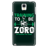 One Piece Training To Be Zoro Or Remain The Same Phone Case - NerdKudo - 2