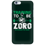 One Piece Training To Be Zoro Or Remain The Same Phone Case - NerdKudo - 6