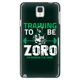 One Piece Training To Be Zoro Or Remain The Same Phone Case - NerdKudo - 1