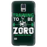 One Piece Training To Be Zoro Or Remain The Same Phone Case - NerdKudo - 4