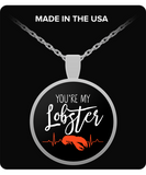 F.R.I.E.N.D.S You're My Lobster Necklace - NerdKudo
