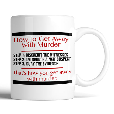 How To Get Away With Murder HTGAWM 11oz Mug