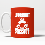 Pokemon Workout Then Passout Mug - NerdKudo - 4