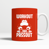 Pokemon Workout Then Passout Mug - NerdKudo - 3