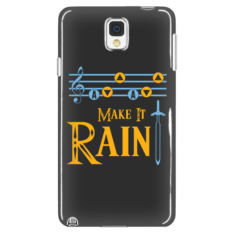 The Legend Of Zelda Make It Rain Phone Case - NerdKudo - 1
