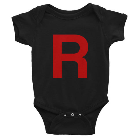 Pokemon Team Rocket Baby Onesie