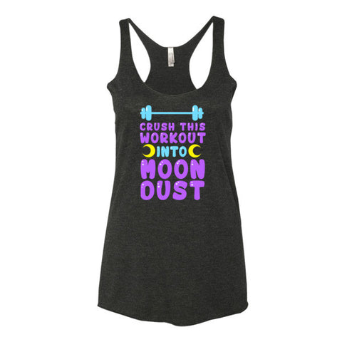 Sailor Moon Crush This Workout Into Moon Dust Women Tank Top