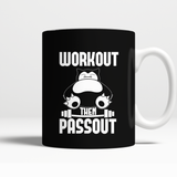 Pokemon Workout Then Passout Mug - NerdKudo - 1
