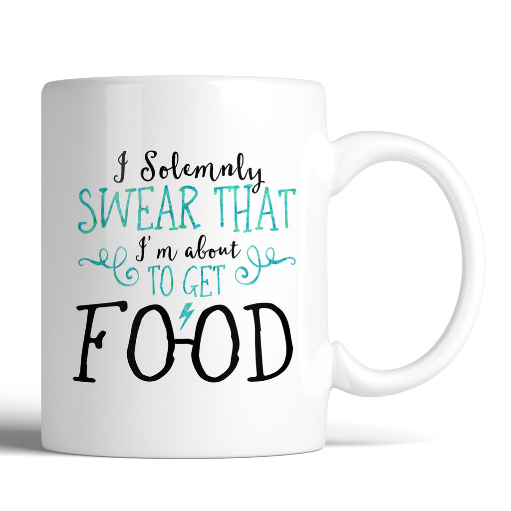 Harry Potter Funny I Solemnly Sweat That I'm About To Get Food 11oz Mug