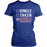 Sailor Moon Single Taken Defending The Earth From The Negaverse Shirt - NerdKudo - 10