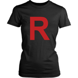 "Pokemon Team Rocket ""R"" Shirt - NerdKudo - 12"