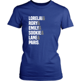 Gilmore Girls Lorelai & Rory & Emily & Sookie & Lane & Paris Shirt - NerdKudo - 11