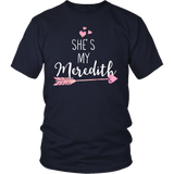 Grey's Anatomy She's My Meredith Shirt - NerdKudo - 4