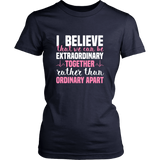 Grey's Anatomy Meredith Grey House Of Candles I Believe That We Can Be Extraordinary Together Shirt - NerdKudo - 11