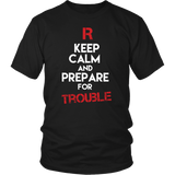 Pokemon Team Rocket Keep Calm And Prepare For Trouble Shirt - NerdKudo - 1