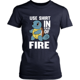 Pokemon Squirtle Use Shirt In Case Of Fire Shirt - NerdKudo - 13