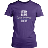 I Speak Fluent Grey's Anatomy Quotes Shirt - NerdKudo - 9