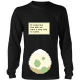 Pokemon It Looks Like This Egg Will Take a Long Time To Hatch Funny Maternity Pregnancy Shirt - NerdKudo - 7