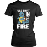 Pokemon Squirtle Use Shirt In Case Of Fire Shirt - NerdKudo - 11