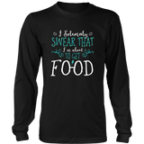 Harry Potter Funny I Solemnly Sweat That I'm About To Get Food Shirt - NerdKudo - 5