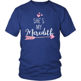 Grey's Anatomy She's My Meredith Shirt - NerdKudo - 1