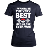 Pokemon I Wanna Be The Very Best Like No One Ever Was Shirt Workout Tanks - NerdKudo - 13