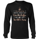 Gilmore Girls You Will Meet An Annoying Woman Today Give Her Coffee And She Will Go Away Shirt - NerdKudo - 6