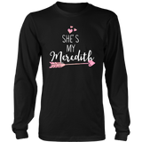 Grey's Anatomy She's My Meredith Shirt - NerdKudo - 6