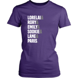 Gilmore Girls Lorelai & Rory & Emily & Sookie & Lane & Paris Shirt - NerdKudo - 9