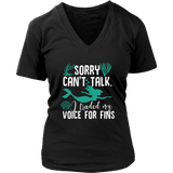 Sorry Can't Talk I Traded My Voice For Fins Shirt - NerdKudo - 11