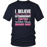 Grey's Anatomy Meredith Grey House Of Candles I Believe That We Can Be Extraordinary Together Shirt - NerdKudo - 3