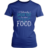Harry Potter Funny I Solemnly Sweat That I'm About To Get Food Shirt - NerdKudo - 9