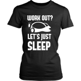 Pokemon Work Out Let's Just Sleep Shirt - NerdKudo - 10
